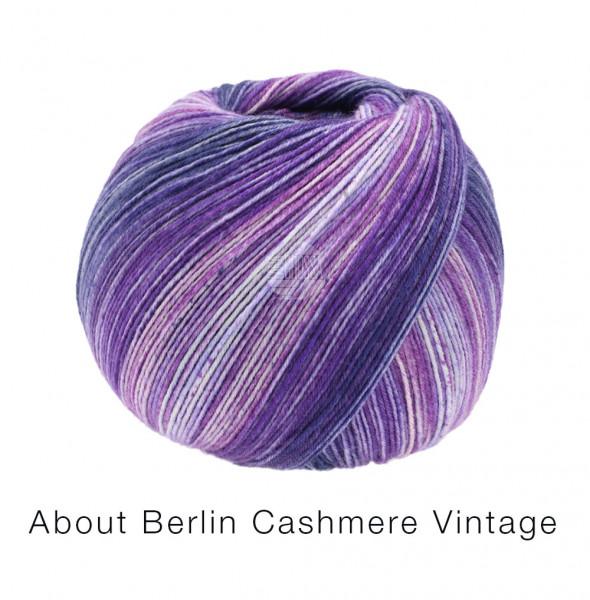 Lana Grossa About Berlin Meilenweit 100 Cashmere Vintage 821 Lilatöne 100g