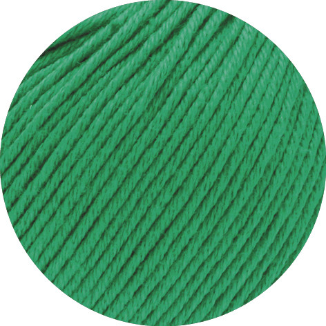 Lana Grossa Soft Cotton 024 Grün 50g