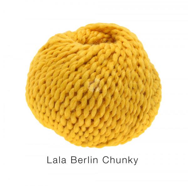 #Lana Grossa lala BERLIN CHUNKY 0005 Goldgelb 50g