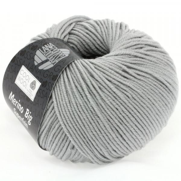 Lana Grossa Cool Wool Big 928 Mittelgrau 50g