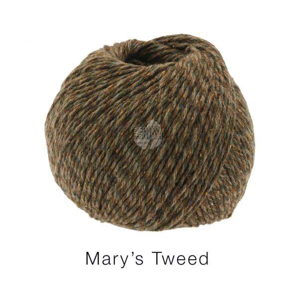 Lana Grossa Mary's Tweed 016 Nougat/Mokka meliert 50g