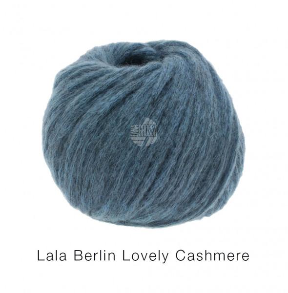 Lana Grossa lala BERLIN LOVELY CASHMERE 0004 Jeansblau 25g