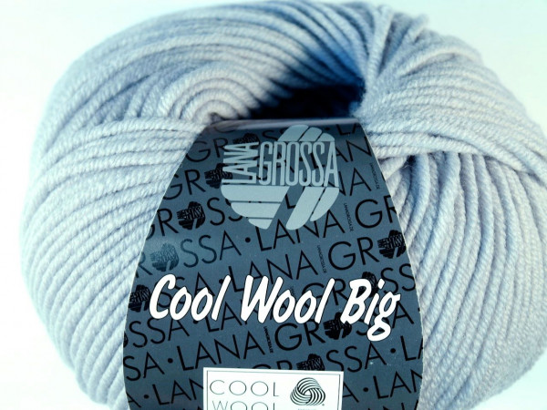 Lana Grossa Cool Wool Big Graugrün