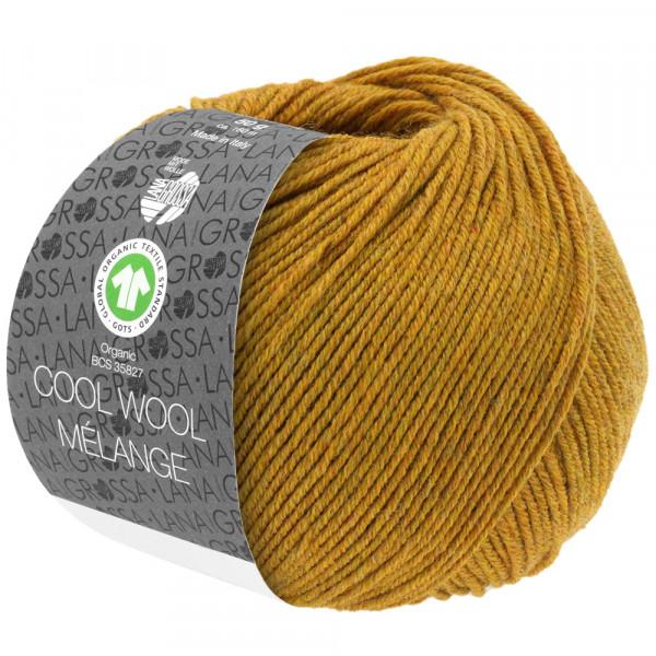 Lana Grossa Cool Wool 2000 Mélange GOTS 114 Bernstein meliert 50g