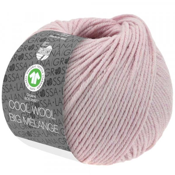 Lana Grossa Cool Wool Big Mélange GOTS 217 Fliederrosa Meliert 50g