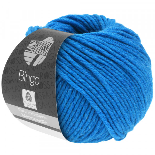 Lana Grossa Bingo 738 Blau 50g