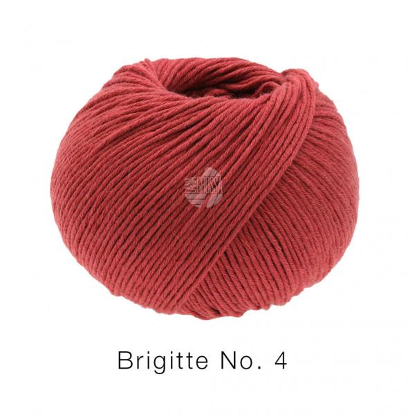 Lana Grossa Brigitte No.4 021 Orientrot 50g