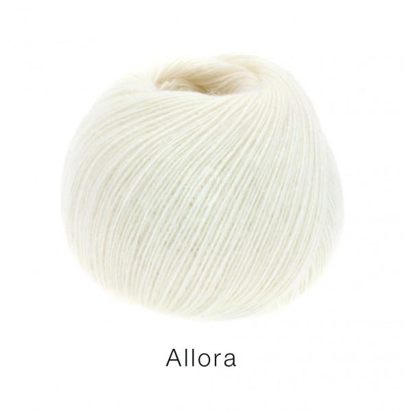 Lana Grossa Allora 014 Weiß 50g
