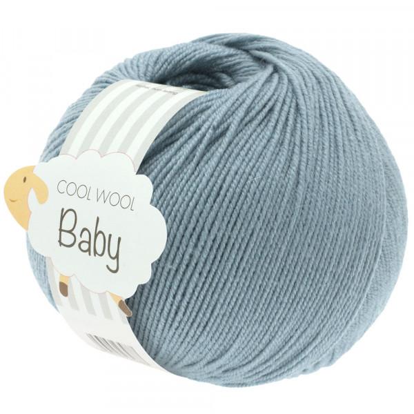 Lana Grossa Cool Wool Baby 264 Graublau 50g