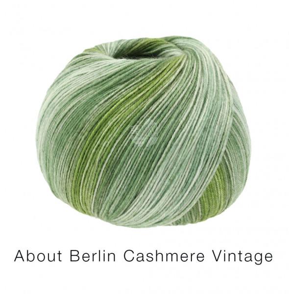 Lana Grossa About Berlin Meilenweit 100 Cashmere Vintage 827 Grüntöne 100g