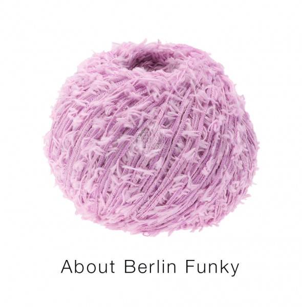 Lana Grossa About Berlin Funky 007 Flieder 50g