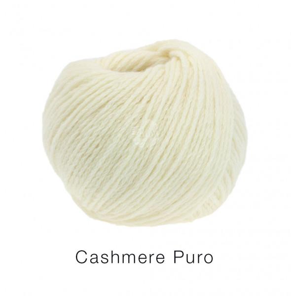 Lana Grossa Cashmere Puro 001 Rohweiß 25g