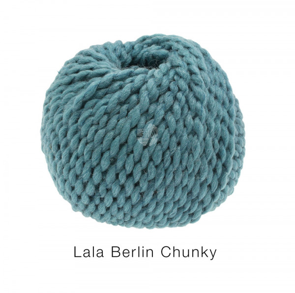 Lana Grossa lala BERLIN CHUNKY 0008 Petrol 50g
