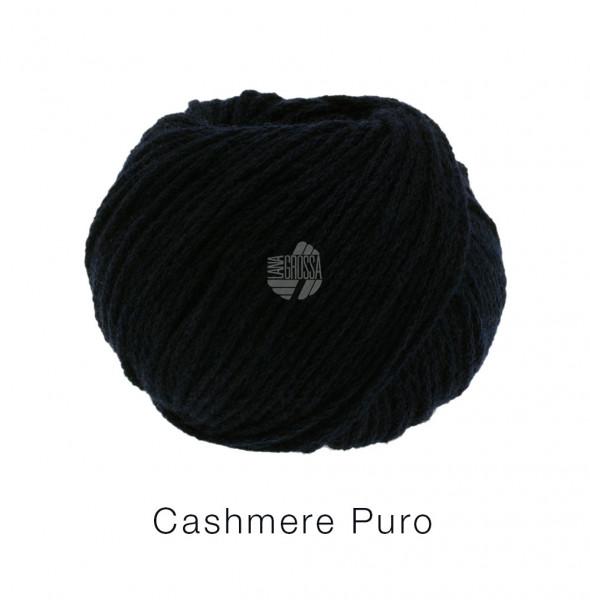 Lana Grossa Cashmere Puro 011 Schwarz 25g