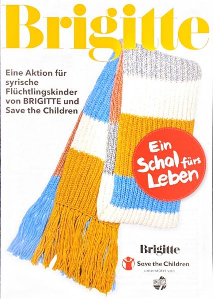 Brigitte Charity 2020 - Ein Schal fürs Leben - Lana Grossa