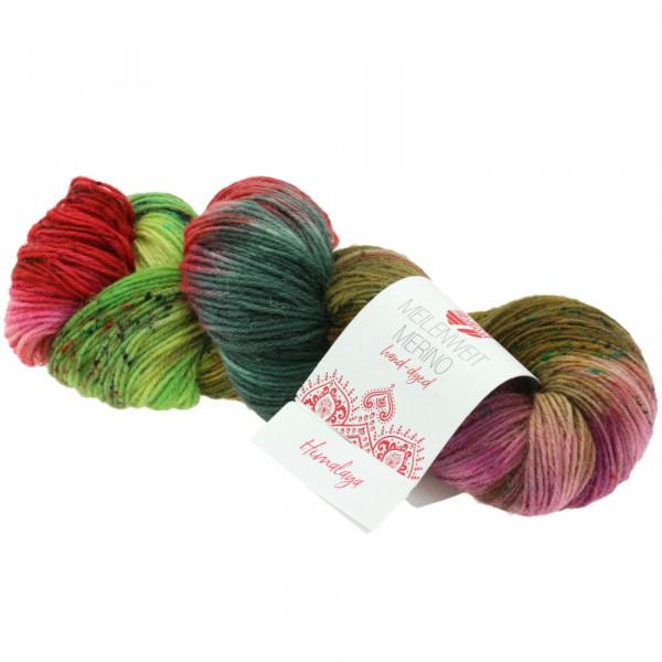 Lana Grossa Meilenweit 100 Merino Hand-Dyed 307 Himalaya 100g