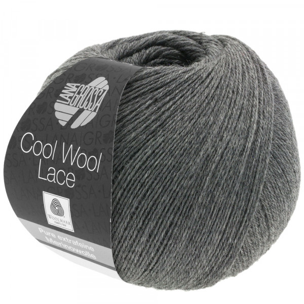 Cool Wool Lace - Dunkelgrau