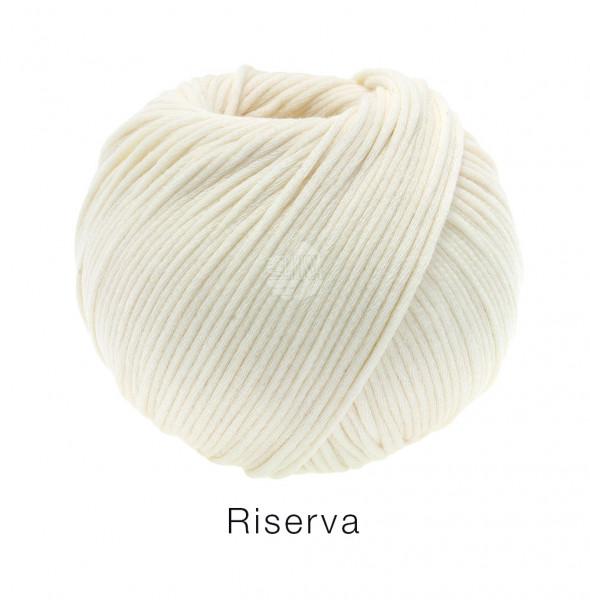 Lana Grossa Riserva Gots 002 Ecru 50g