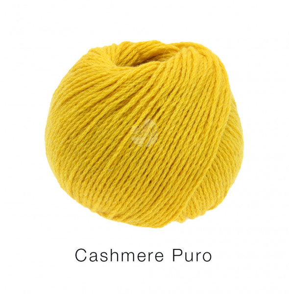 Lana Grossa Cashmere Puro 007 Gelb 25g