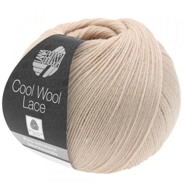 Lana Grossa Cool Wool Lace 013 Grege 50g