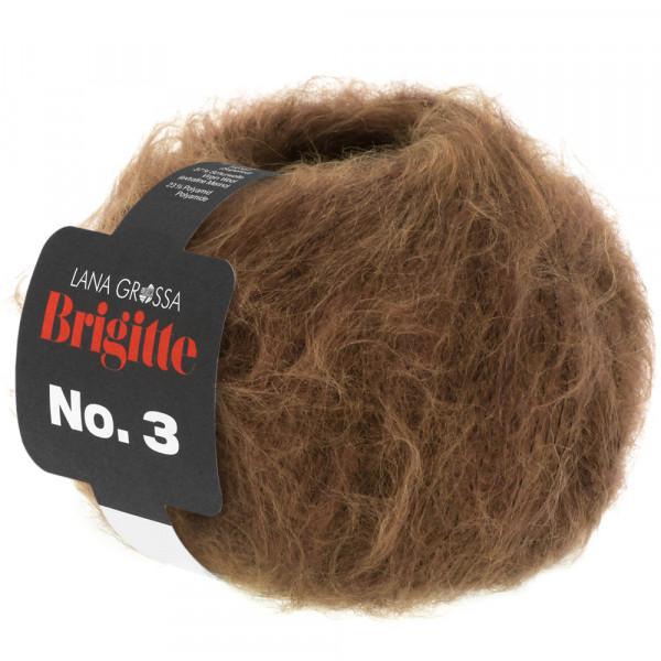 Lana Grossa Brigitte No.3 035 Braun 25g