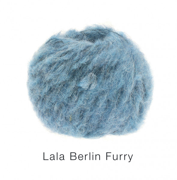 Lana Grossa lala BERLIN FURRY 0007 Jeans50g