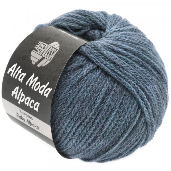Lana Grossa Alta Moda Alpaca 053 Jeans meliert 50g