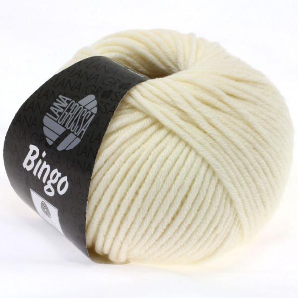 Lana Grossa Bingo 005 Rohweiß 50g