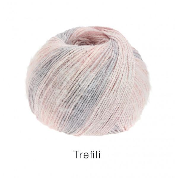 Lana Grossa Trefili 002 Zartrosa/Mauve 50g
