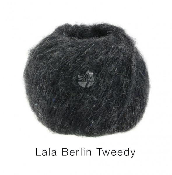 Lana Grossa lala Berlin Tweedy 006 Anthrazit 50g