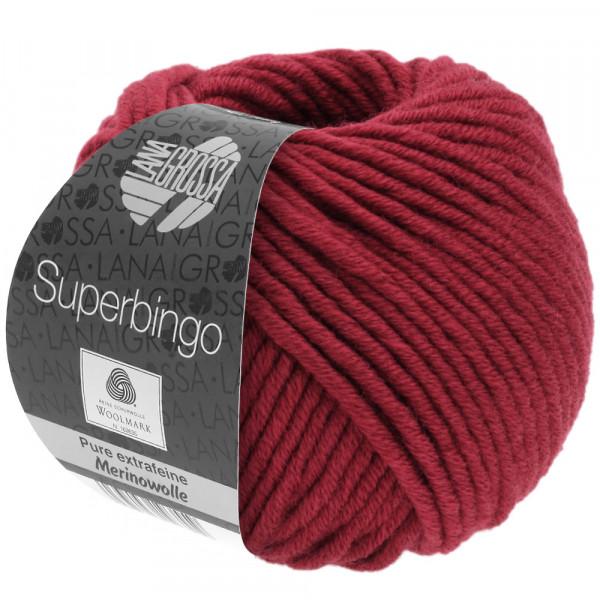Lana Grossa Superbingo 091 Weinrot 50g