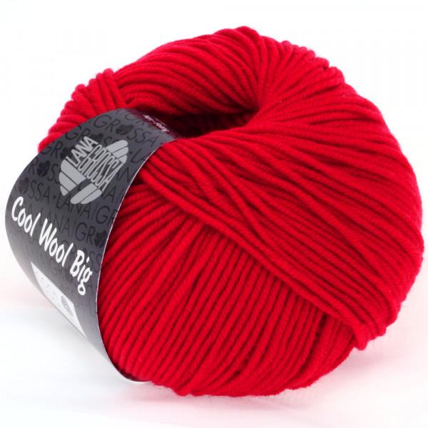 Lana Grossa Cool Wool Big 648 Karminrot