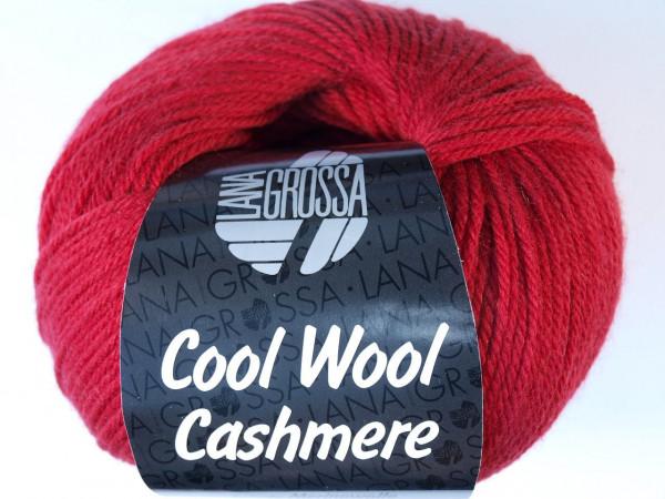 Lana Grossa Cool Wool Cashmere - Rot