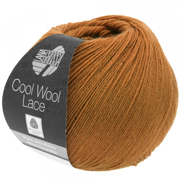 Lana Grossa Cool Wool Lace 011 Camel 50g