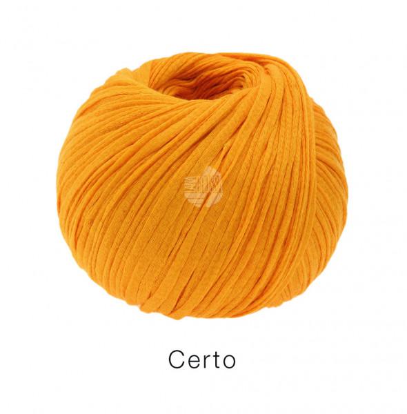 Lana Grossa Certo 001 Orange 50g