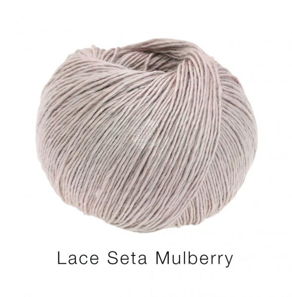 Lana Grossa Lace Seta Mulberry 003 Pastellflieder 50g