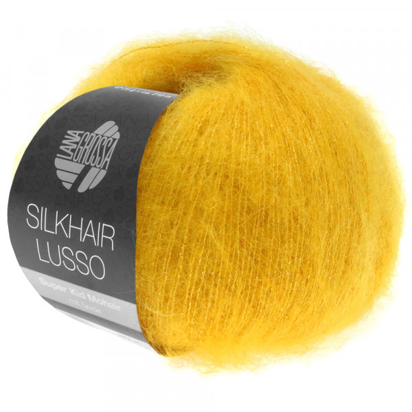 Lana Grossa Silkhair Lusso 924 Gelb/Gold 25g