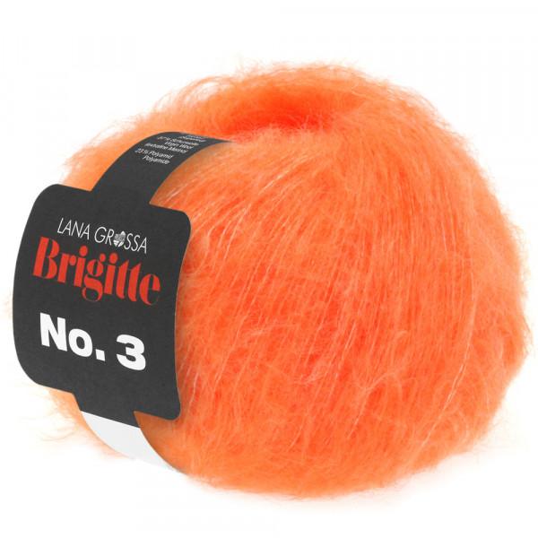 Lana Grossa Brigitte No.3 002 Orange 25g