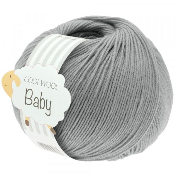 Lana Grossa Cool Wool Baby 241 Hellgrau 50g