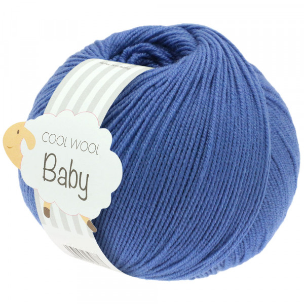 Lana Grossa Cool Wool Baby 209 Blau 50g