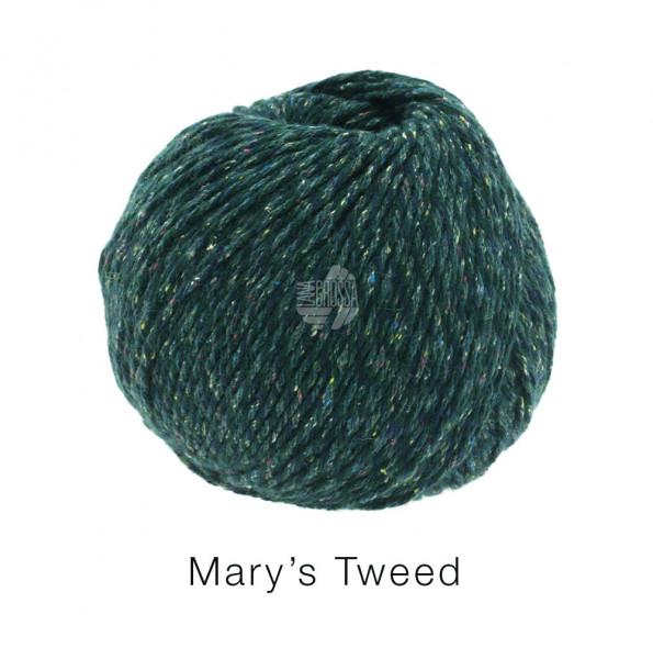 Lana Grossa Mary's Tweed 010 Petrol 50g