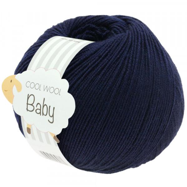 Lana Grossa Cool Wool Baby 210 Nachtblau 50g