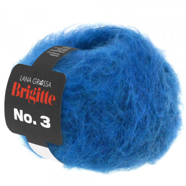 Lana Grossa Brigitte No.3 013 Blau 25g