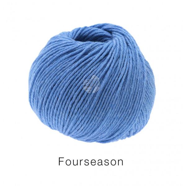 Lana Grossa Fourseason 030 Mittelblau 50g