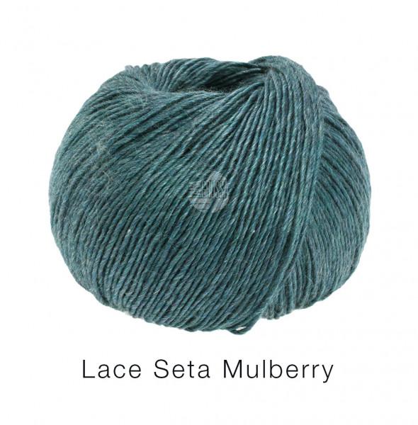 Lana Grossa Lace Seta Mulberry 018 Dunkelpetrol 50g