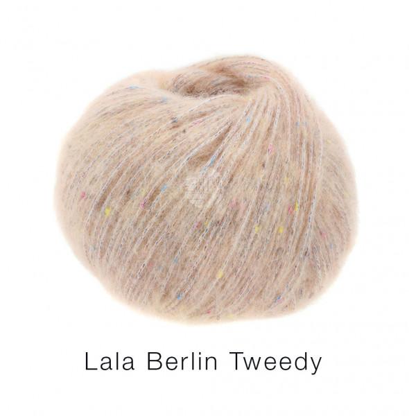 Lana Grossa lala Berlin Tweedy 002 Pfirsich 50g