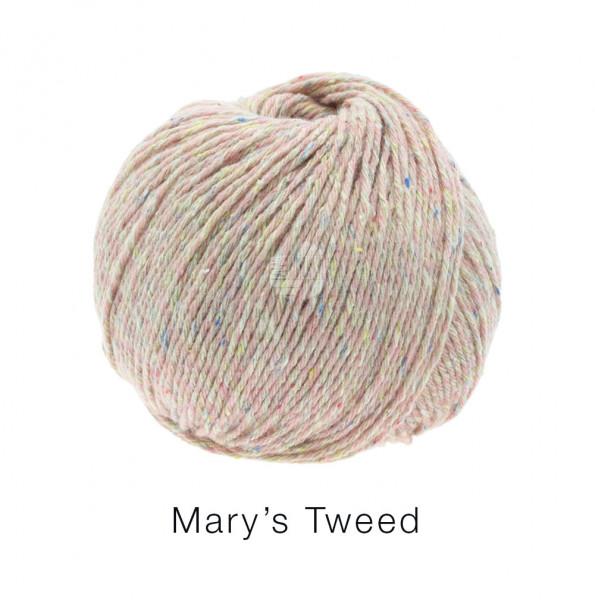 Lana Grossa Mary's Tweed 004 Rosa 50g