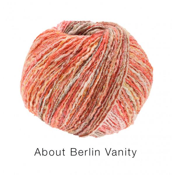 Lana Grossa About Berlin Vanity 002 Rot/Orange/Rost bunt 50g
