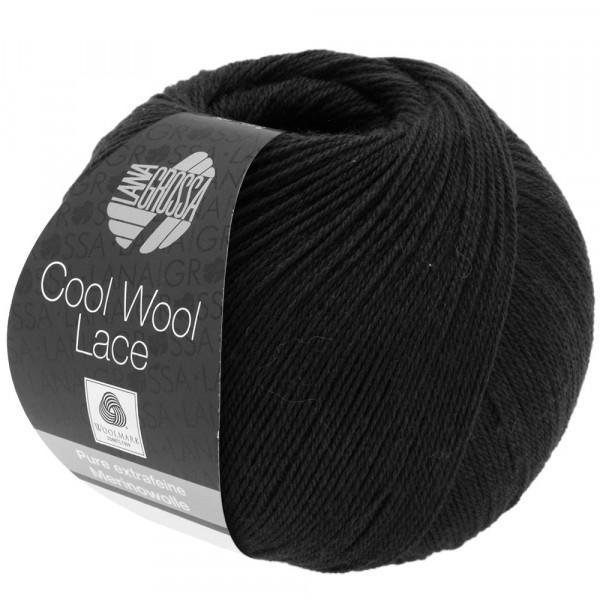 Cool Wool Lace - Schwarz