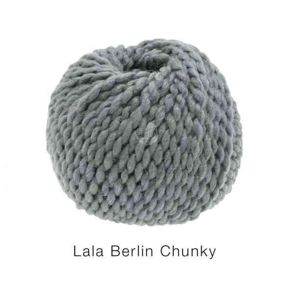 Lana Grossa lala BERLIN CHUNKY 0010 Grau 50g